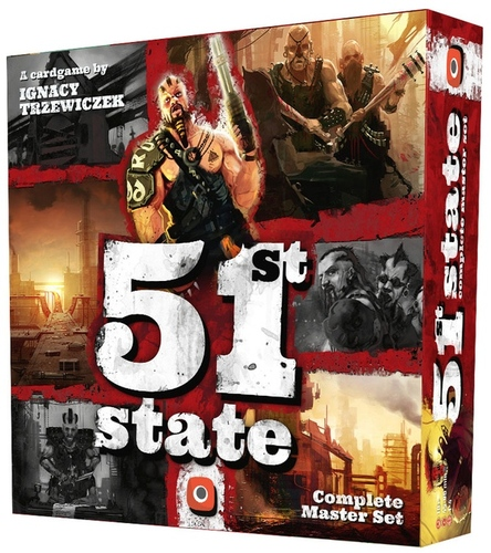 Monopolis 51st State Master Set Base Tabletop, Board and Card Game