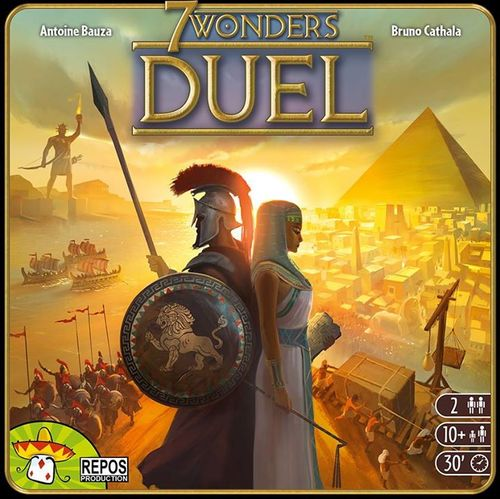 Monopolis 7 Wonders Duel Base Tabletop, Board and Card Game