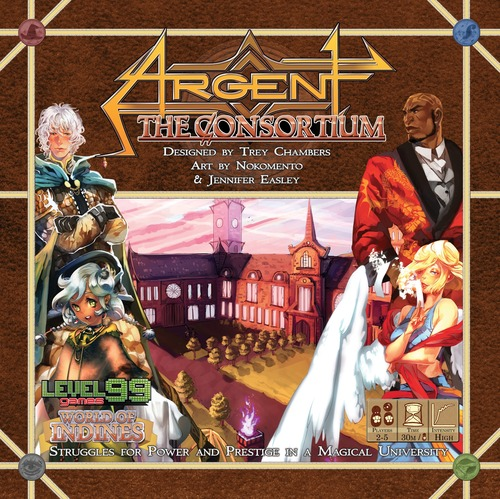Monopolis Argent the Consortium Base Tabletop, Board and Card Game