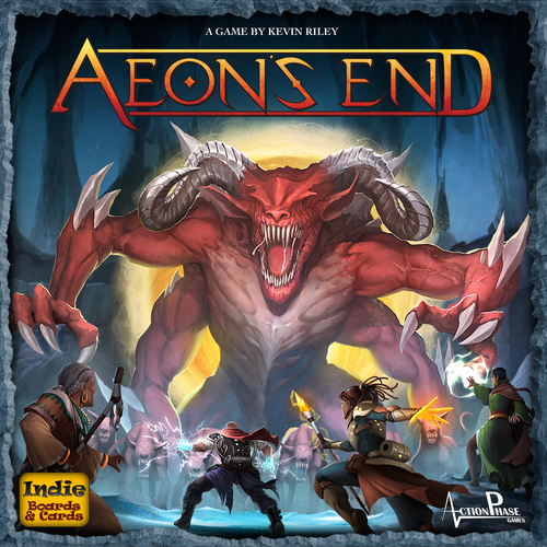 Monopolis Aeon's End Base Tabletop, Board and Card Game