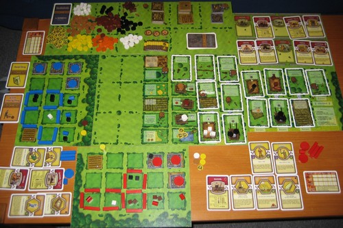 Monopolis Agricola Base Tabletop, Board and Card Game