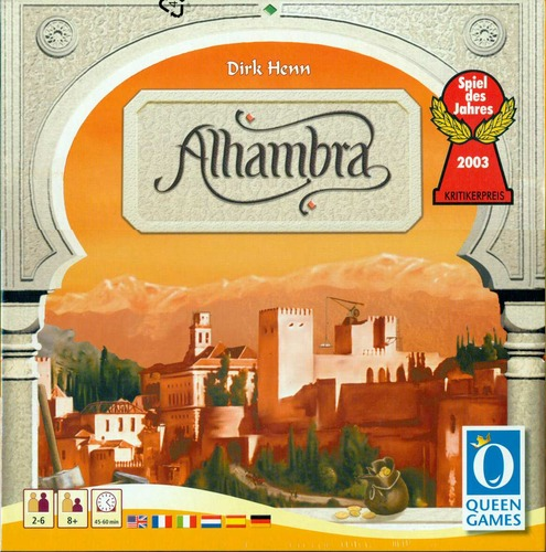 Monopolis Alhambra Base Tabletop, Board and Card Game