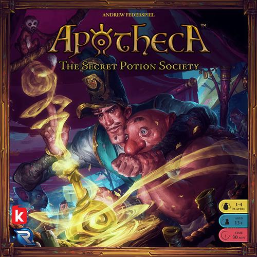 Monopolis Apotheca Base Tabletop, Board and Card Game