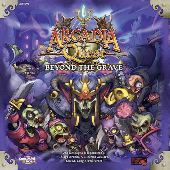 Arcadia Quest: Beyond the Grave Board Game Expansion Monopolis