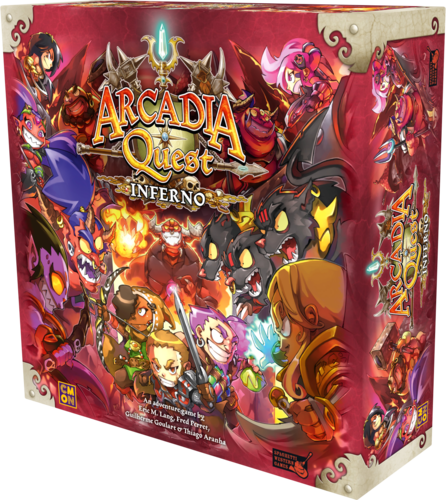 Arcadia Quest: Inferno Board Game Monopolis