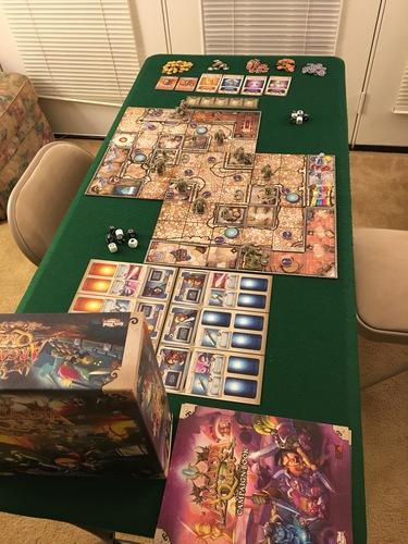 Arcadia Quest Board Game Monopolis