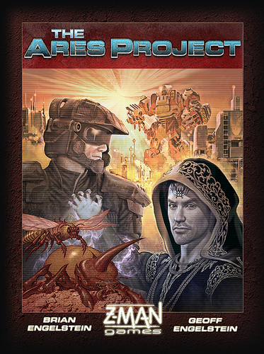 Monopolis The Ares Project Base Tabletop, Board and Card Game