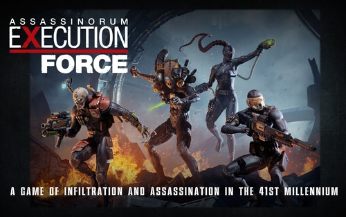 Monopolis Assassinorium: Execution Force Base Tabletop, Board and Card Game