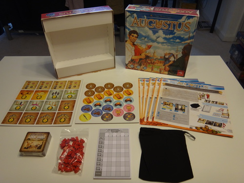 Monopolis Augustus Base Tabletop, Board and Card Game