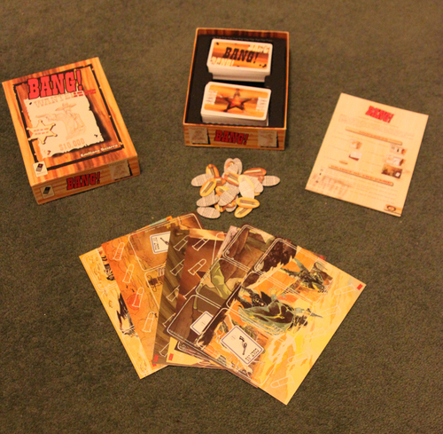 Monopolis Bang Base Tabletop, Board and Card Game