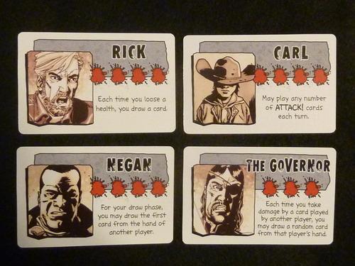 Monopolis Bang Walking Dead Base Tabletop, Board and Card Game