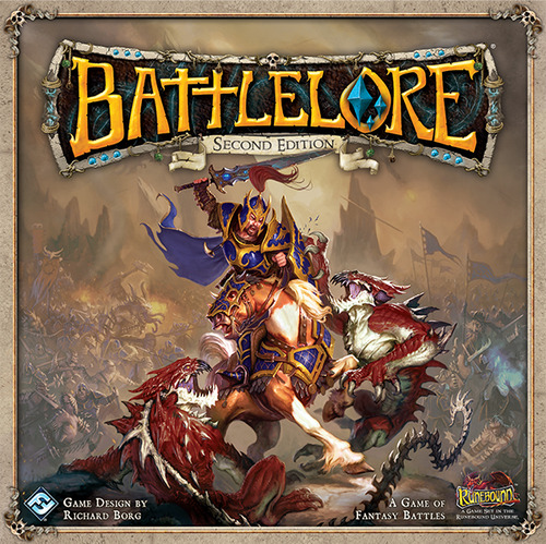 Monopolis Battlelore Base Tabletop, Board and Card Game