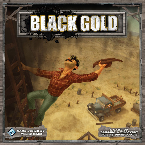 Monopolis Black Gold Base Tabletop, Board and Card Game