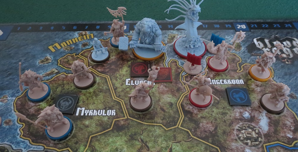 Monopolis Blood Rage Base Tabletop, Board and Card Game