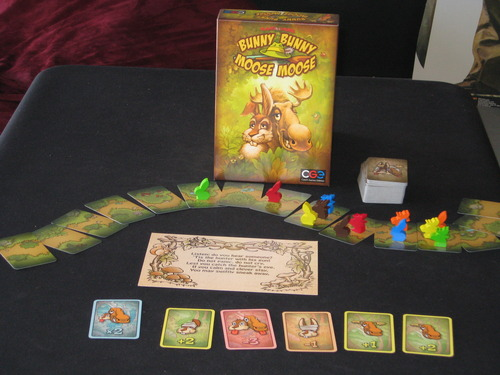 Monopolis Bunny Bunny Moose Moose Base Tabletop, Board and Card Game