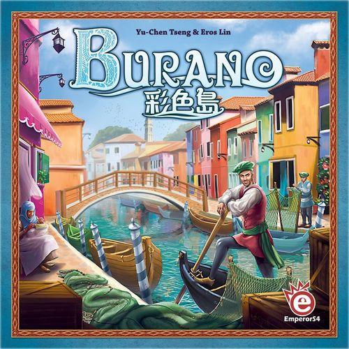 Monopolis Burano Base Tabletop, Board and Card Game