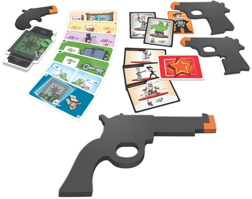 Monopolis Cash and Guns 2nd Edition Expansion Tabletop, Board and Card Game