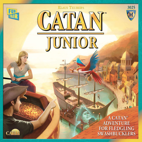 Monopolis Catan Junior Base Tabletop, Board and Card Game