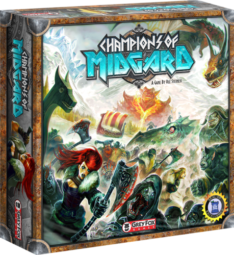 Monopolis Champions of Midgard Base Tabletop, Board and Card Game