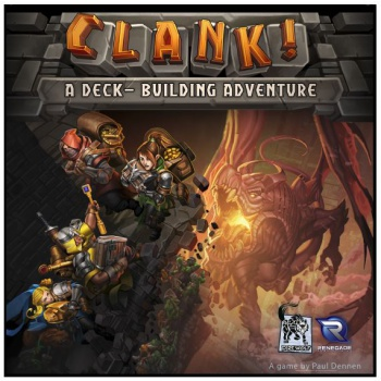 Monopolis Clank Base Tabletop, Board and Card Game