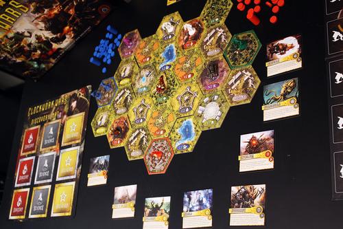 Monopolis Clockwork Wars Base Tabletop, Board and Card Game