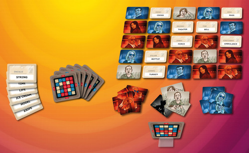 Monopolis Codenames Base Tabletop, Board and Card Game
