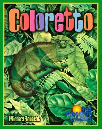 Monopolis Coloretto Base Tabletop, Board and Card Game