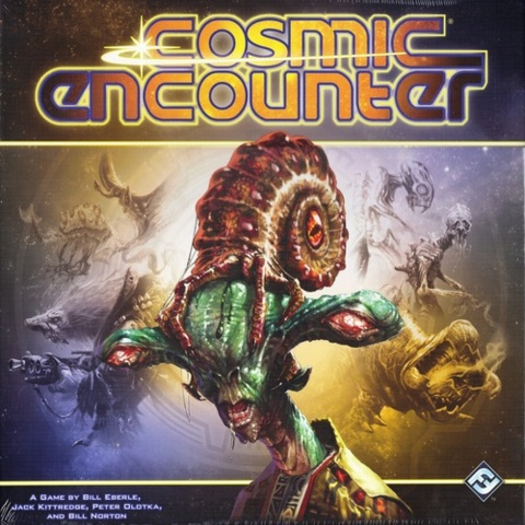 Monopolis Cosmic Encounter Base Tabletop, Board and Card Game