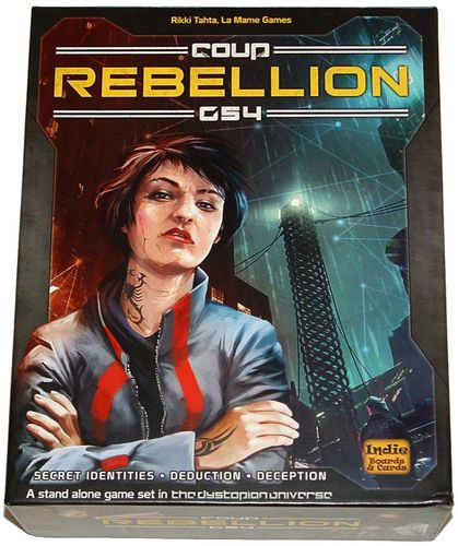 Monopolis Coup: Rebellion G54 Base Tabletop, Board and Card Game