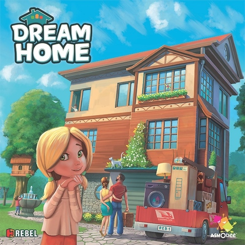 Monopolis Dream Home Base Tabletop, Board and Card Game