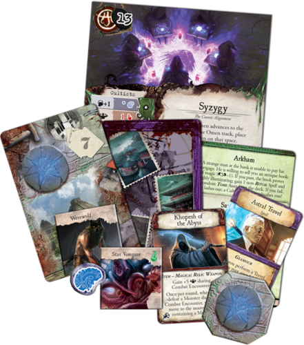 Monopolis Eldritch Strange Remnants Lore Expansion Tabletop, Board and Card Game