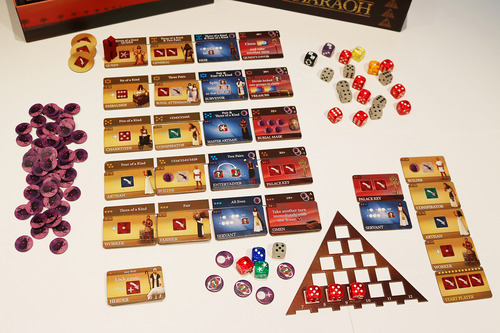 Monopolis Favor of the Pharaoh Base Tabletop, Board and Card Game
