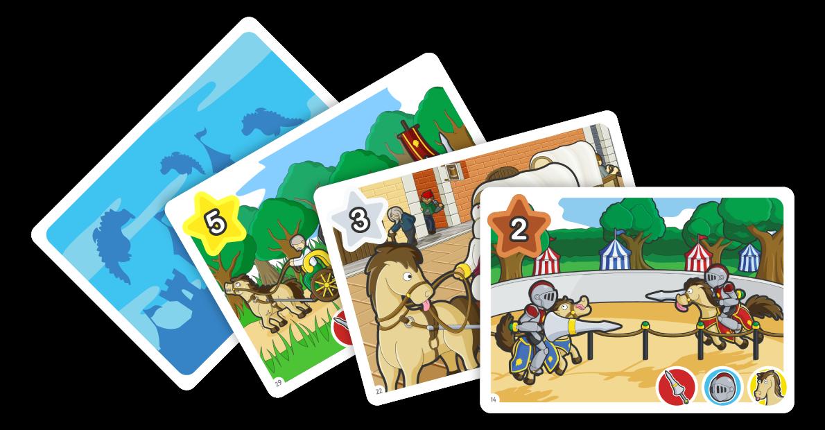 Monopolis Flipeek Medieval Base Tabletop, Board and Card Game