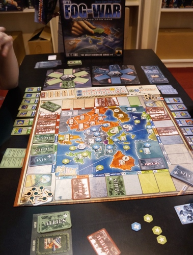 Monopolis The Fog of War Board Game Base Tabletop, Board and Card Game