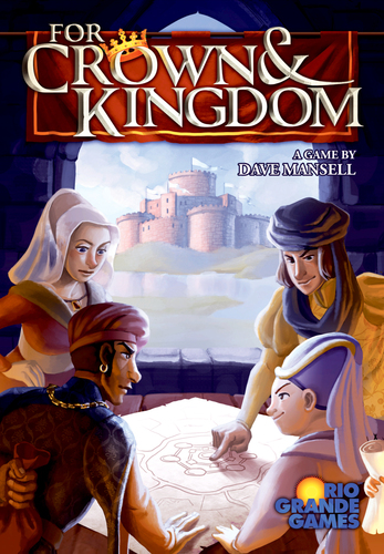 Monopolis For Crown and Kingdom Base Tabletop, Board and Card Game