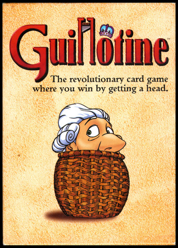 Monopolis Guillotine Base Tabletop, Board and Card Game