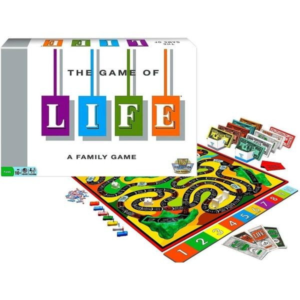 Monopolis Game of Life Base Tabletop, Board and Card Game