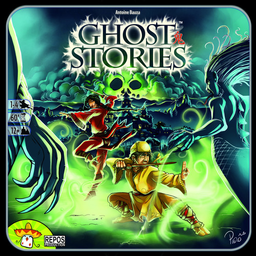 Monopolis Ghost Stories Base Tabletop, Board and Card Game