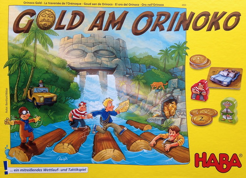 Monopolis Gold am Orinoko Base Tabletop, Board and Card Game