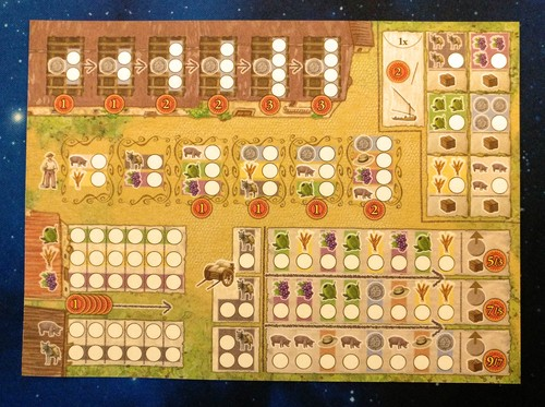 Monopolis La Granja: No Siesta Dice Base Tabletop, Board and Card Game