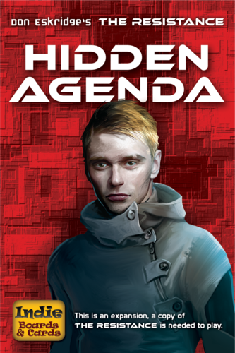 Monopolis The Resistance Hidden Agenda Tabletop, Board and Card Game