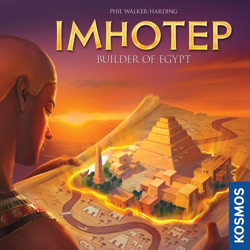 Monopolis Imhotep Base Tabletop, Board and Card Game