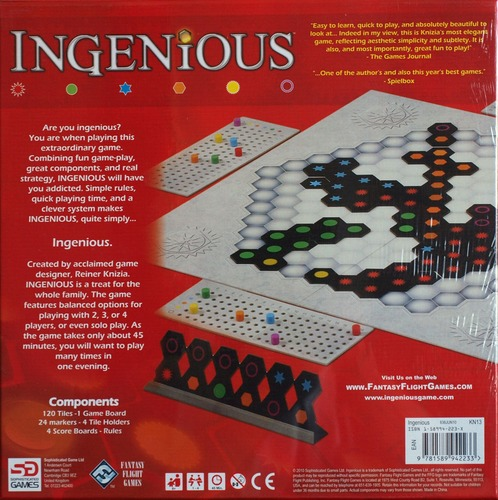 Monopolis Ingenious Base Tabletop, Board and Card Game