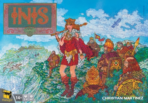 Monopolis Inis Base Tabletop, Board and Card Game