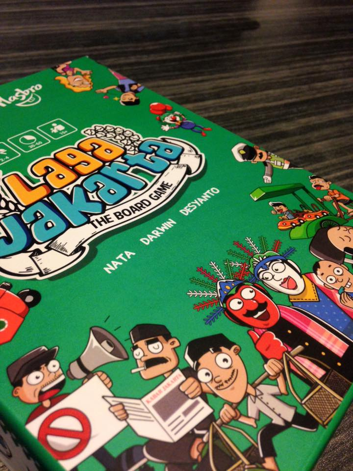 Monopolis Laga Jakarta Base Tabletop, Board and Card Game