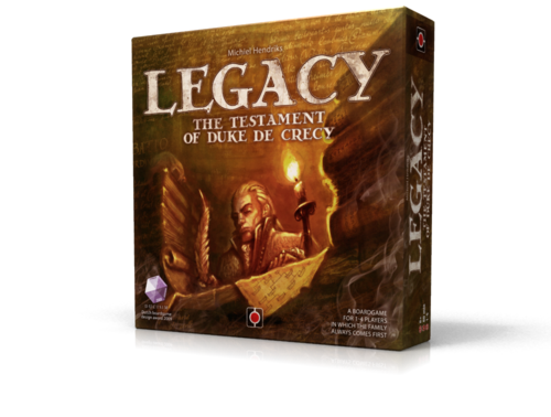 Monopolis Legacy Testament of Duke De Crecy Board Game Base Tabletop, Board and Card Game