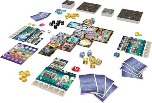 Masmorra: Dungeons of Arcadia Board game Monopolis