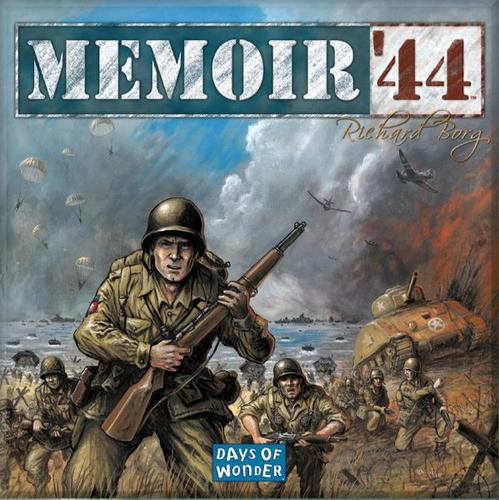 Monopolis Memoir 44 Base Tabletop, Board and Card Game