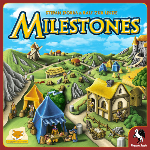 Monopolis Milestones Base Tabletop, Board and Card Game