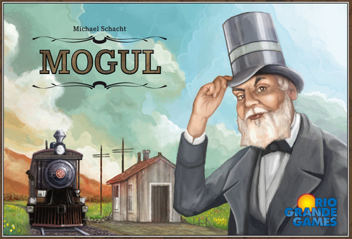 Monopolis Mogul Base Tabletop, Board and Card Game